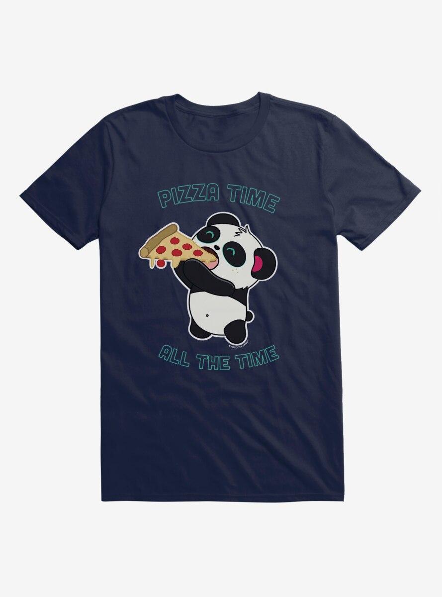 BL Creators: Hungry Rabbit Studio Pandi The Panda Pizza Time All The Time T-Shirt