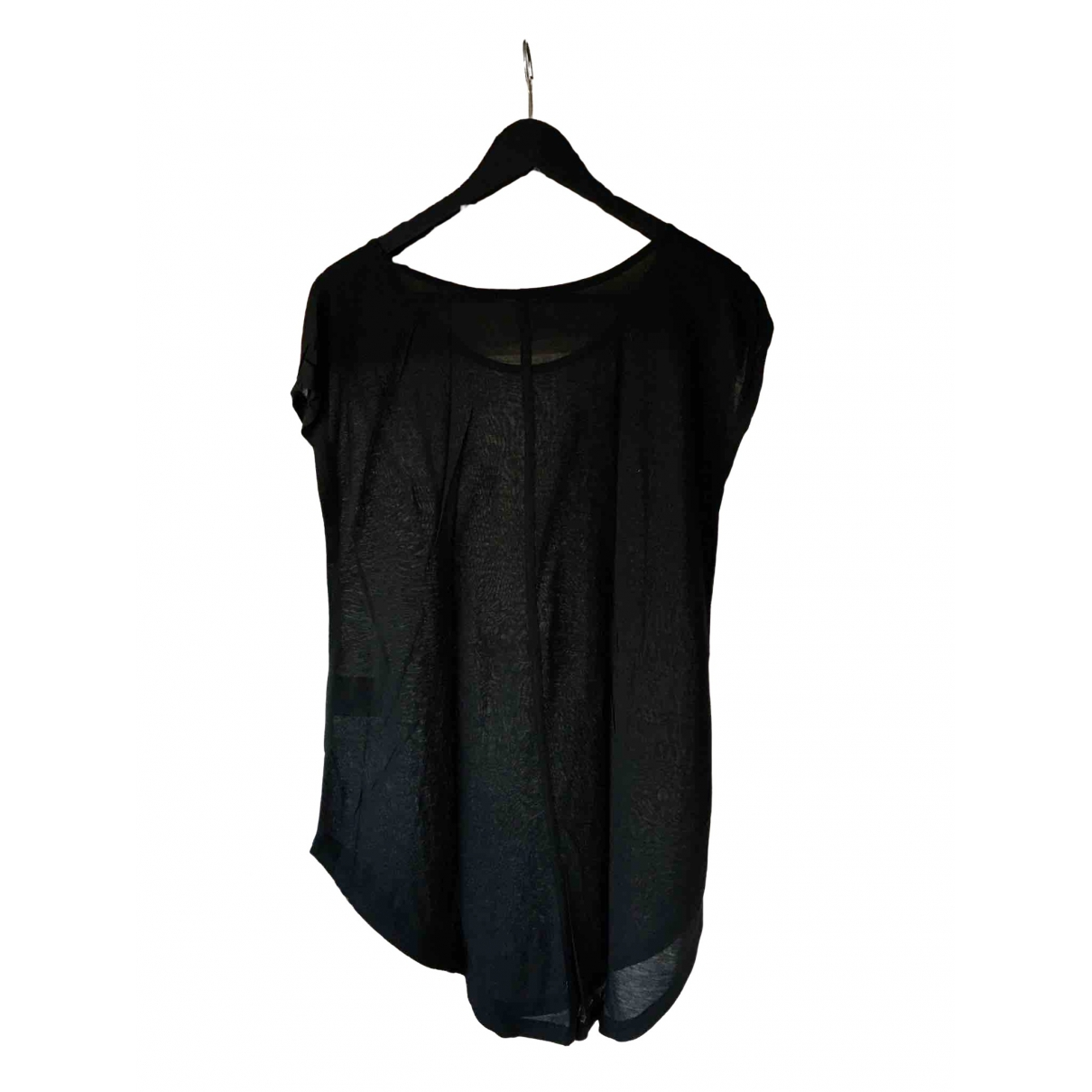 Black Denim \N Black Cotton  top for Women XS International