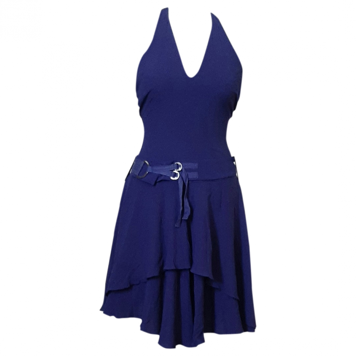 Versus - Robe   pour femme en soie - violet