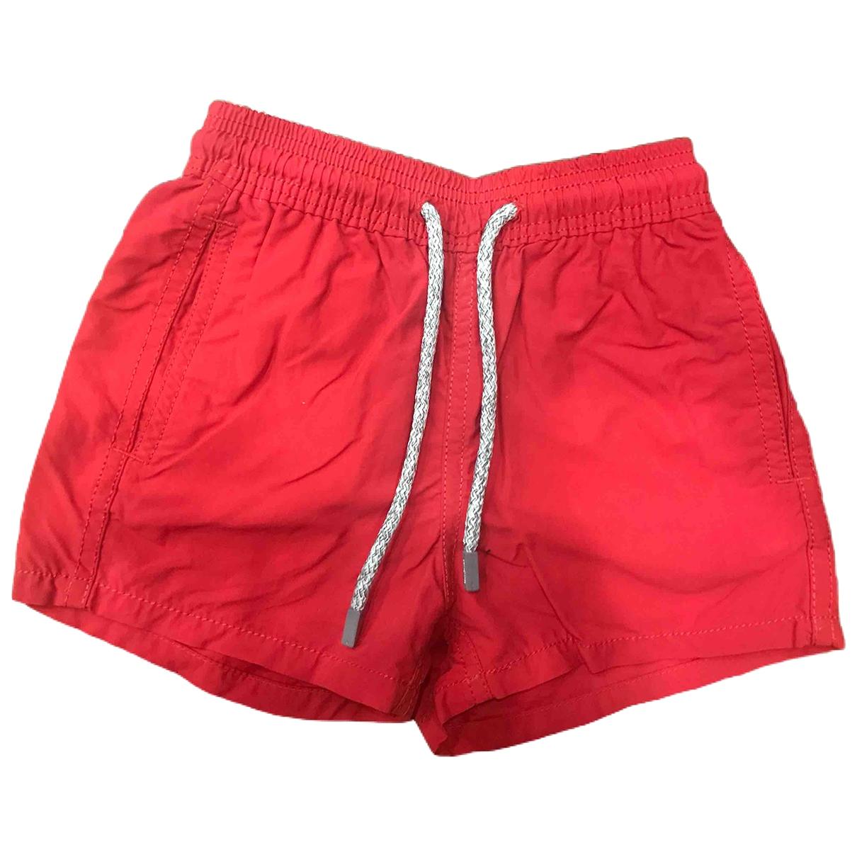 Vilebrequin - Short   pour enfant en coton - rouge