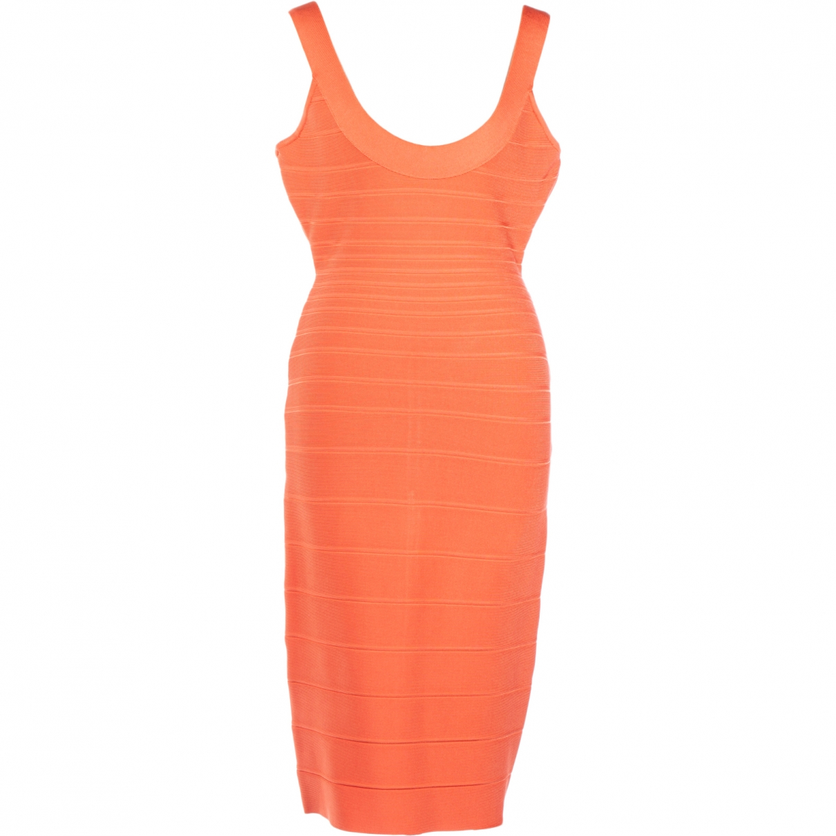 Herve Leger - Robe   pour femme - orange