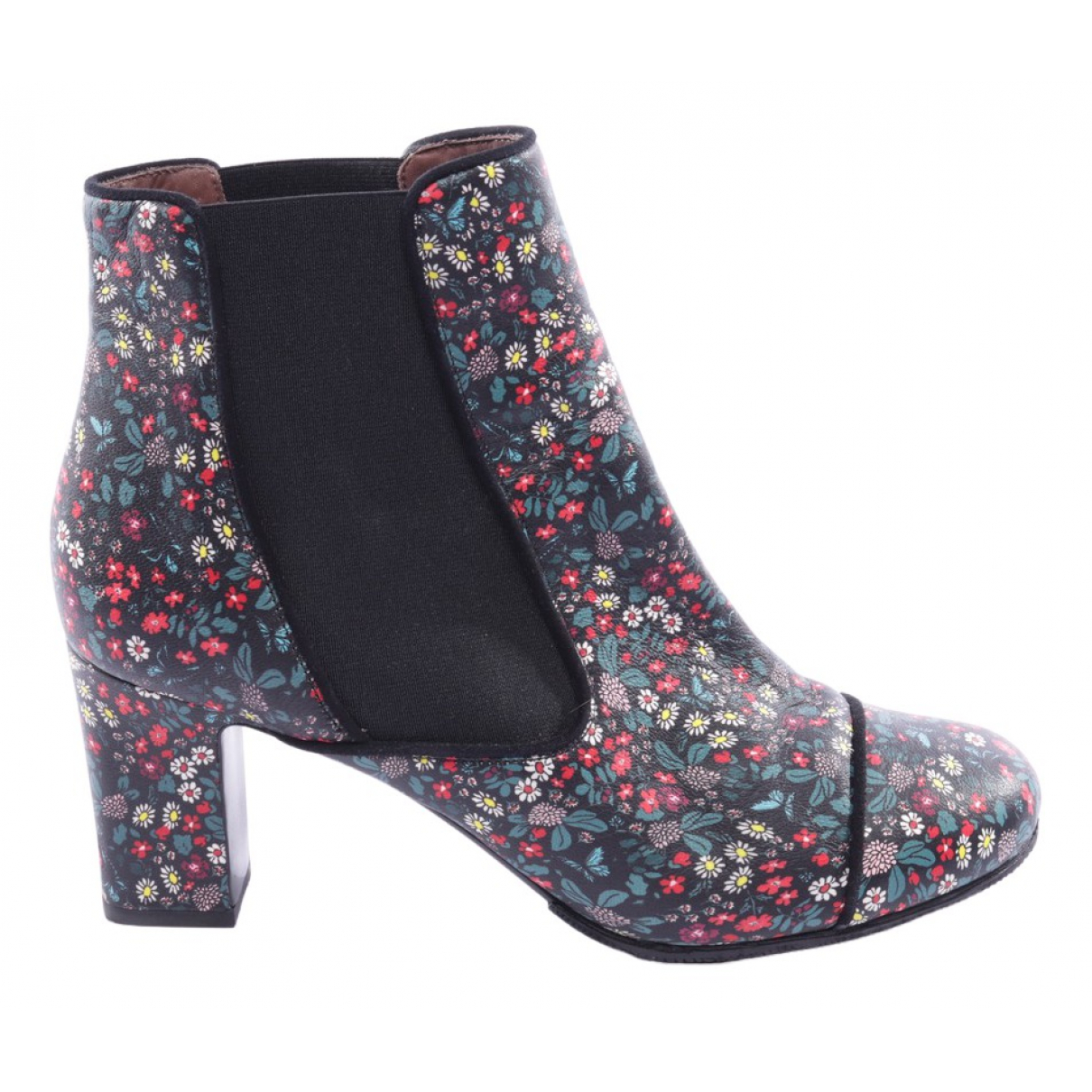 Tabitha Simmons \N Multicolour Leather Ankle boots for Women 40.5 EU
