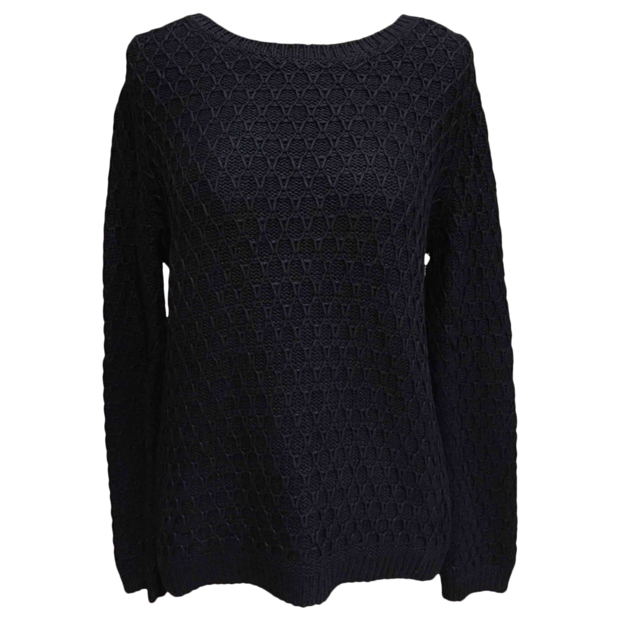 The Kooples N Black Silk Knitwear for Women M International