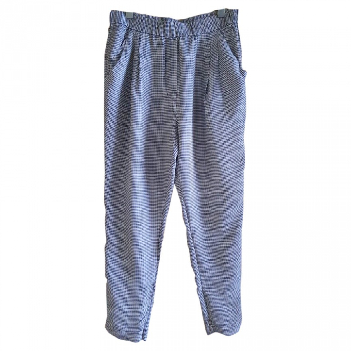 3.1 Phillip Lim \N Blue Trousers for Women 6 US