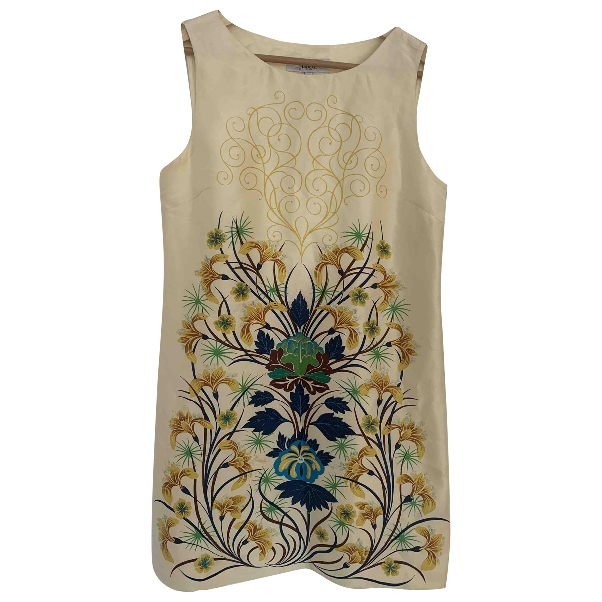 Tibi - Robe   pour femme en soie - multicolore