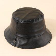 Sombrero cubo PU de niñitos