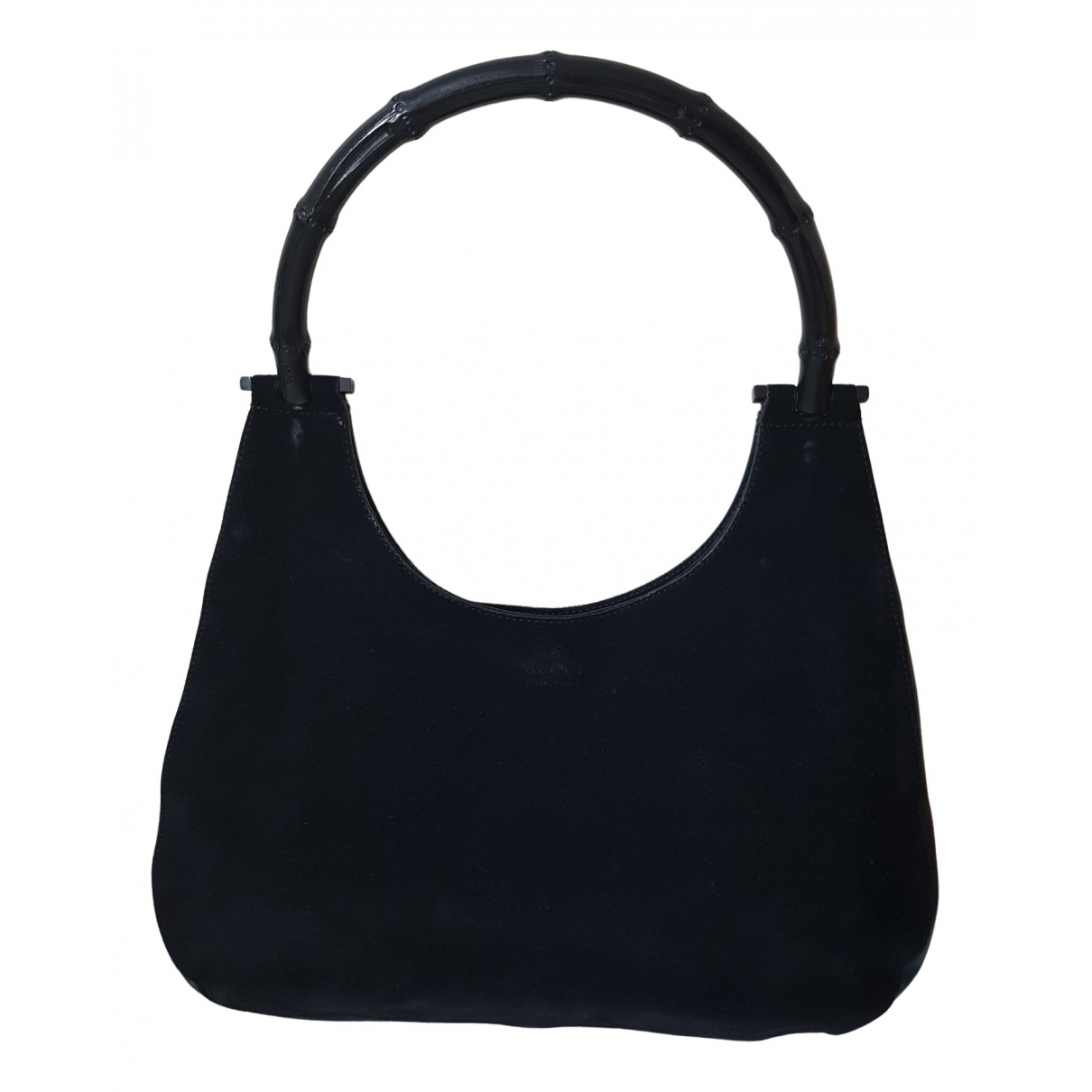 Gucci Bamboo Black Suede handbag for Women \N