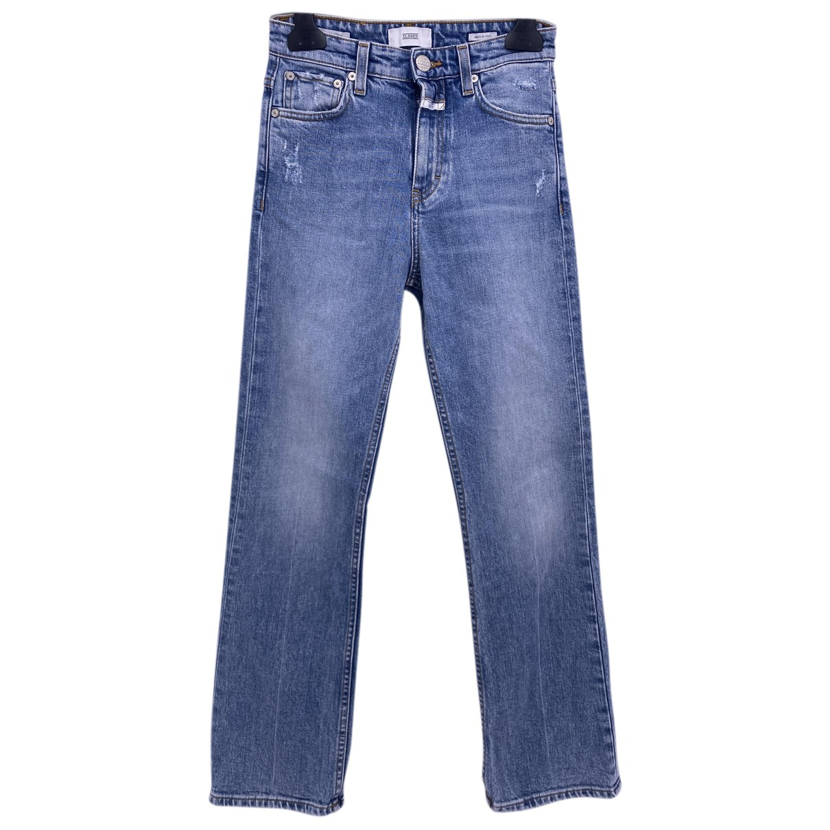Closed N Blue Cotton Jeans for Women 24 US