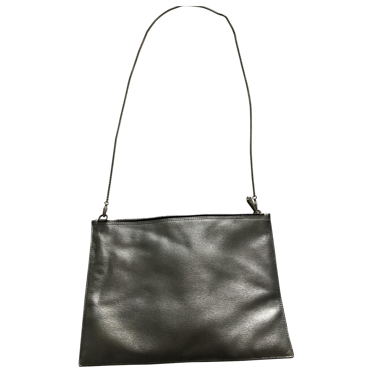 Aspinal Of London \N Silver Leather handbag for Women \N