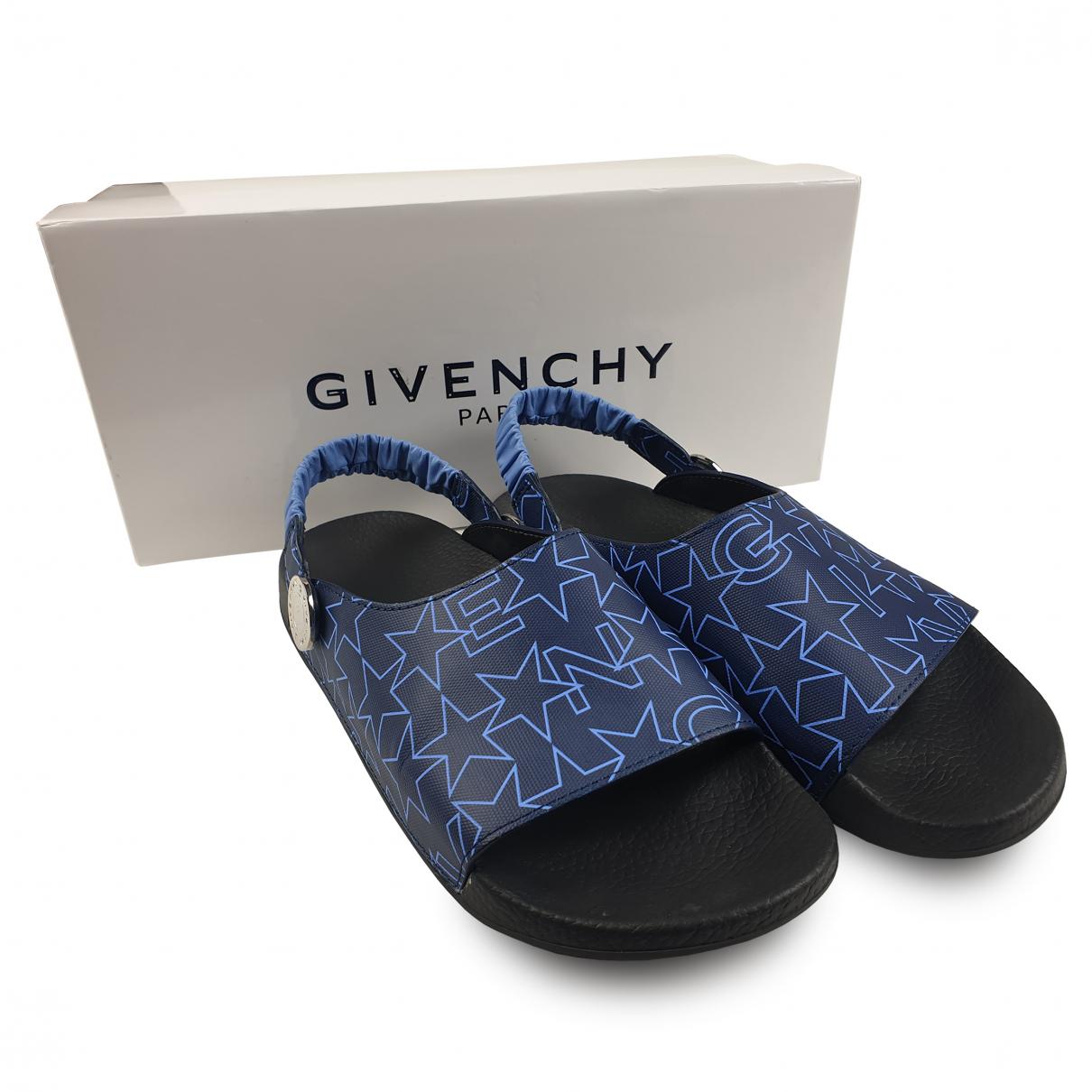 Givenchy \N Mokassins in  Blau Kautschuk