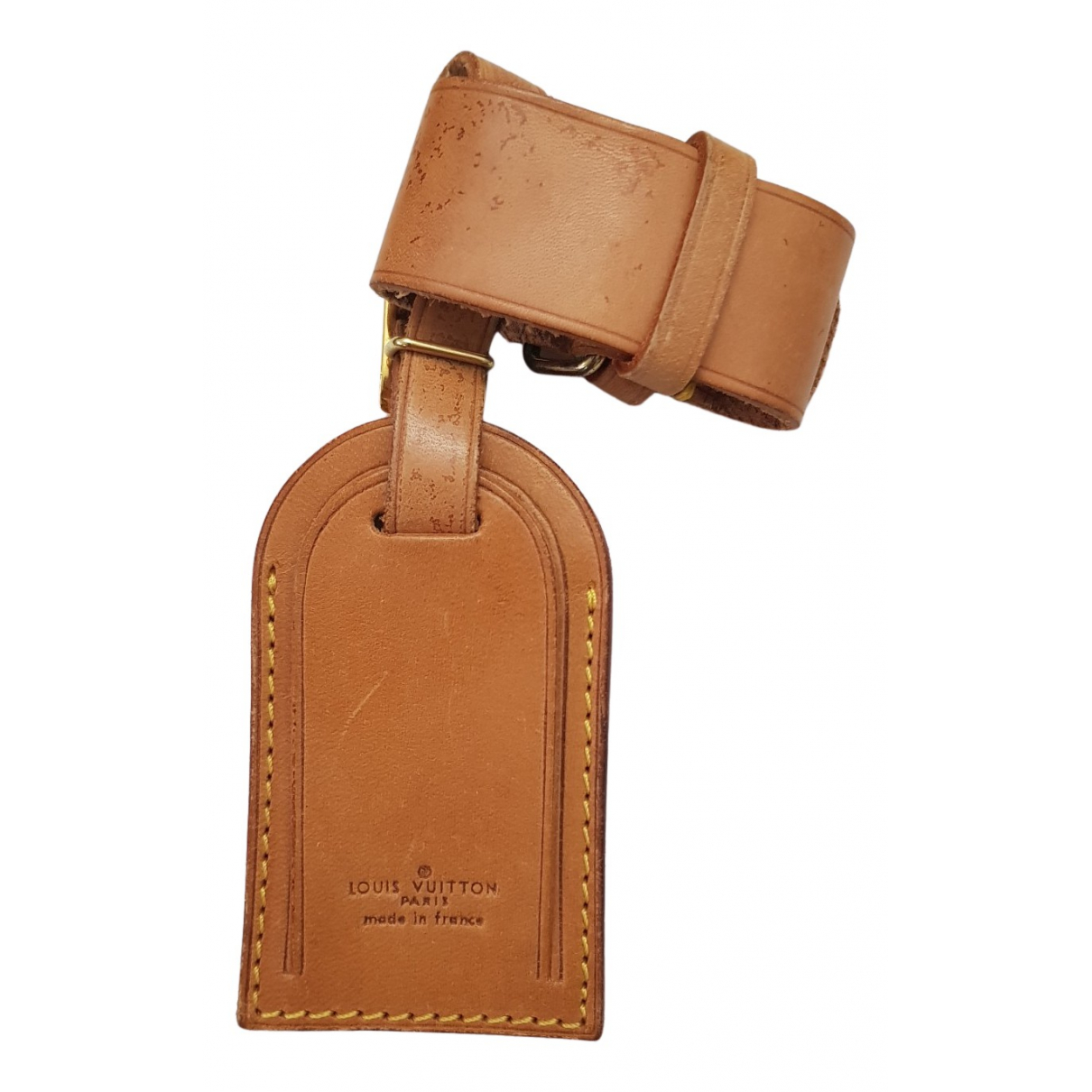 Louis Vuitton \N Kleinlederwaren in  Beige Leder
