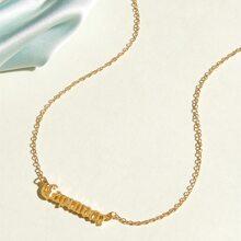 1pc Capricorn Charm Necklace