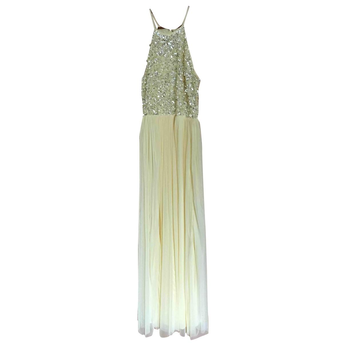 Asos \N Kleid in  Gelb Polyester