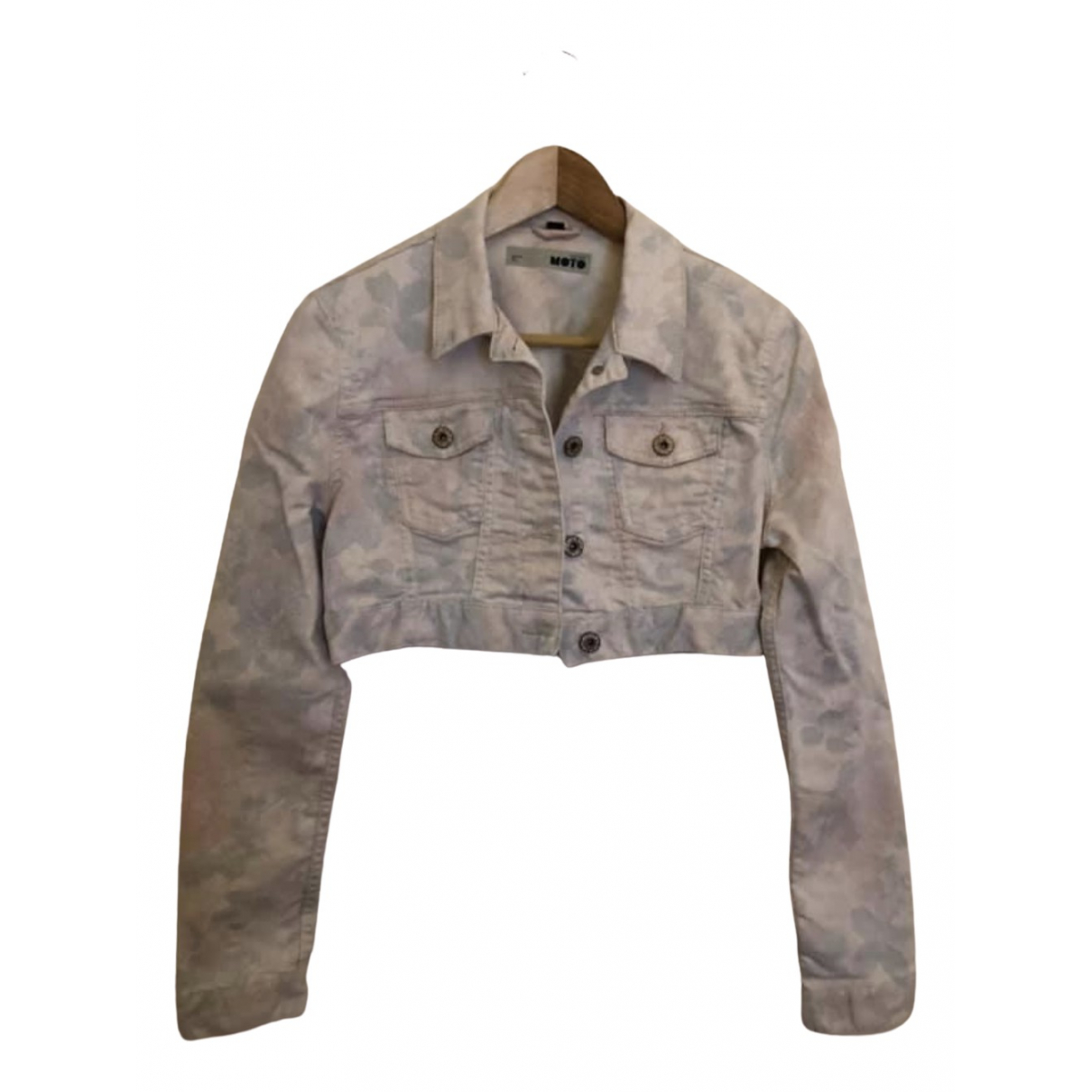tophop \N Multicolour Denim - Jeans jacket for Women 10 UK