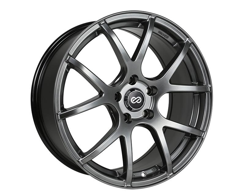 Enkei M52 Wheel Performance Series Hyper Black 16x7 5x100 38mm