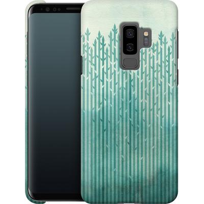 Samsung Galaxy S9 Plus Smartphone Huelle - Misty Morning von Little Clyde