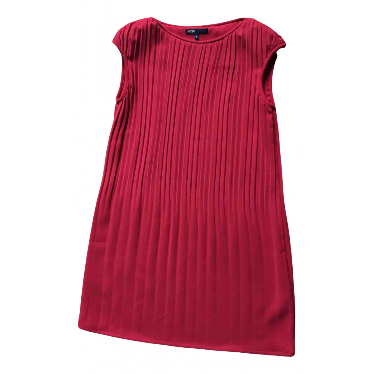 Maje - Robe   pour femme - rouge