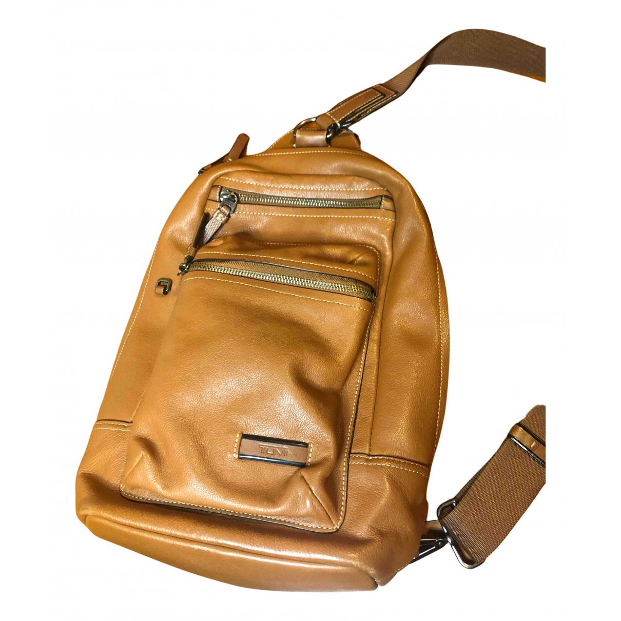 Tumi N Camel Leather bag for Men N