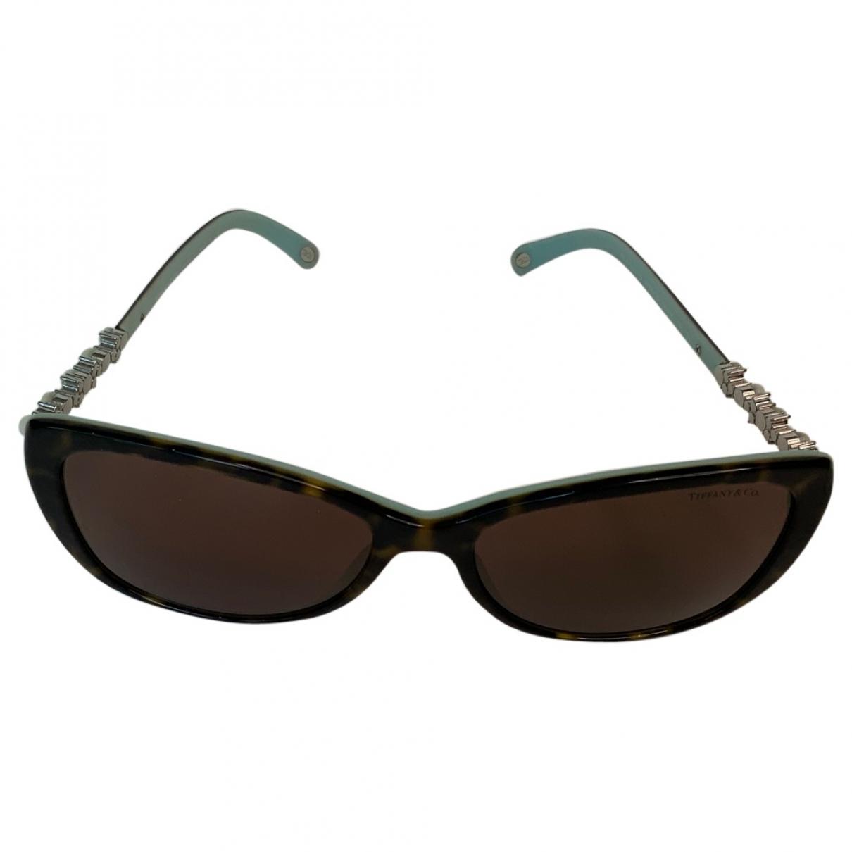 Tiffany & Co \N Sonnenbrillen in  Braun Kunststoff