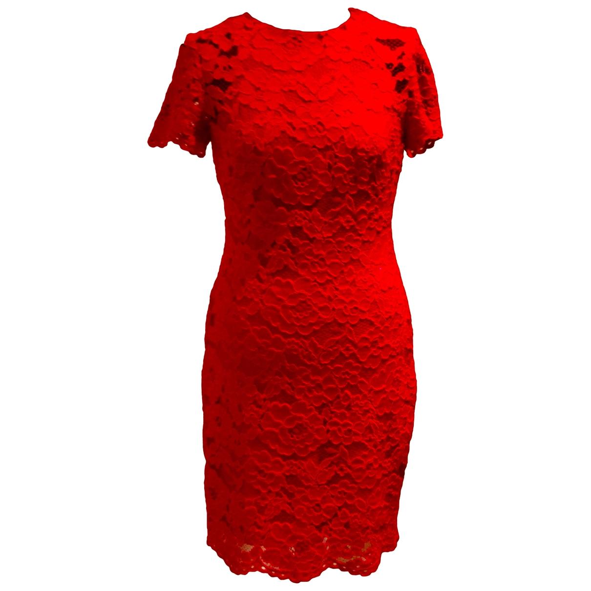 Lauren Ralph Lauren \N Kleid in  Rot Spitze