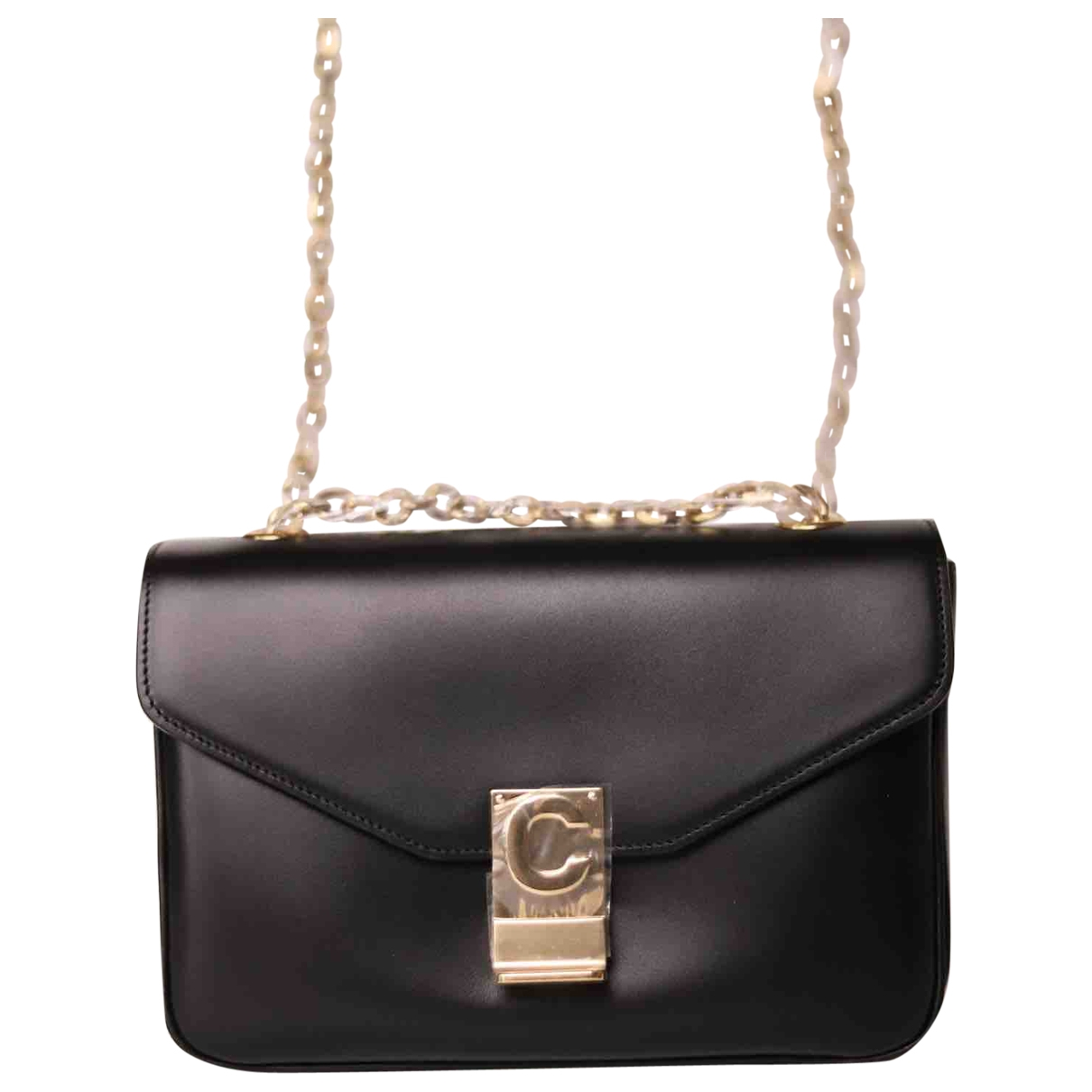 Celine C bag Black Leather handbag for Women \N
