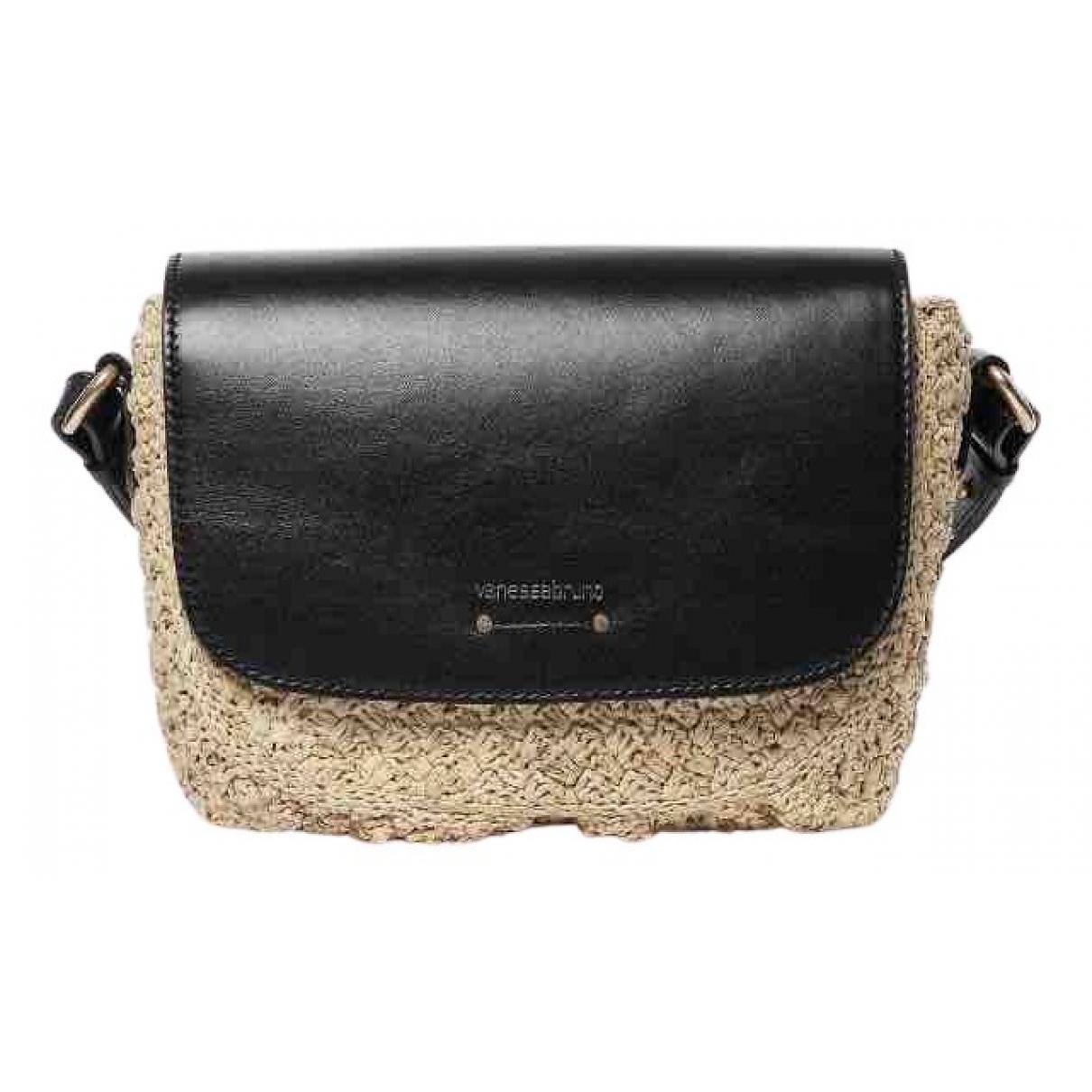 Vanessa Bruno \N Handtasche in  Schwarz Stroh