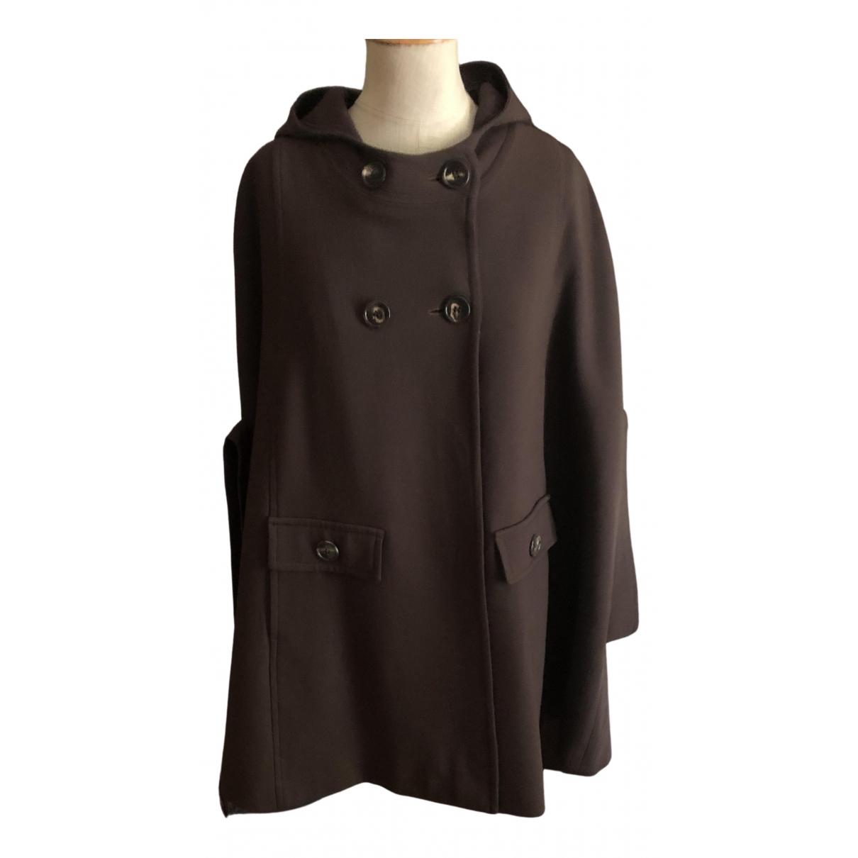 - Veste   pour femme en laine - marron