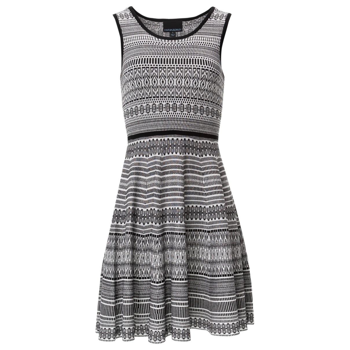 Cynthia Rowley \N Kleid in  Bunt Baumwolle