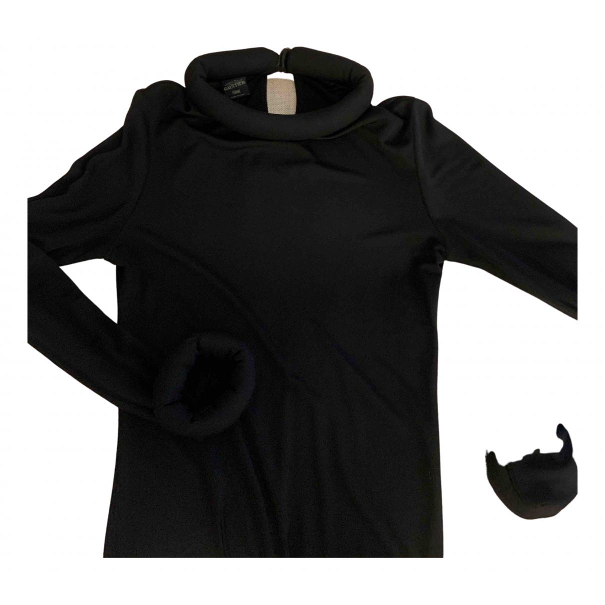 Jean Paul Gaultier - Top   pour femme en tweed - noir