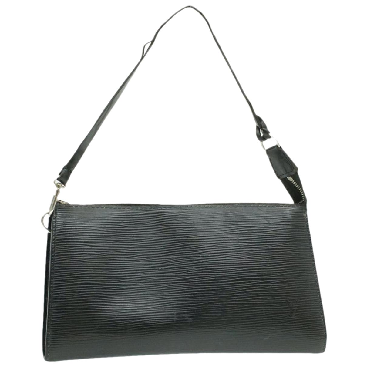 Louis Vuitton - Sac de voyage   pour femme en cuir - noir