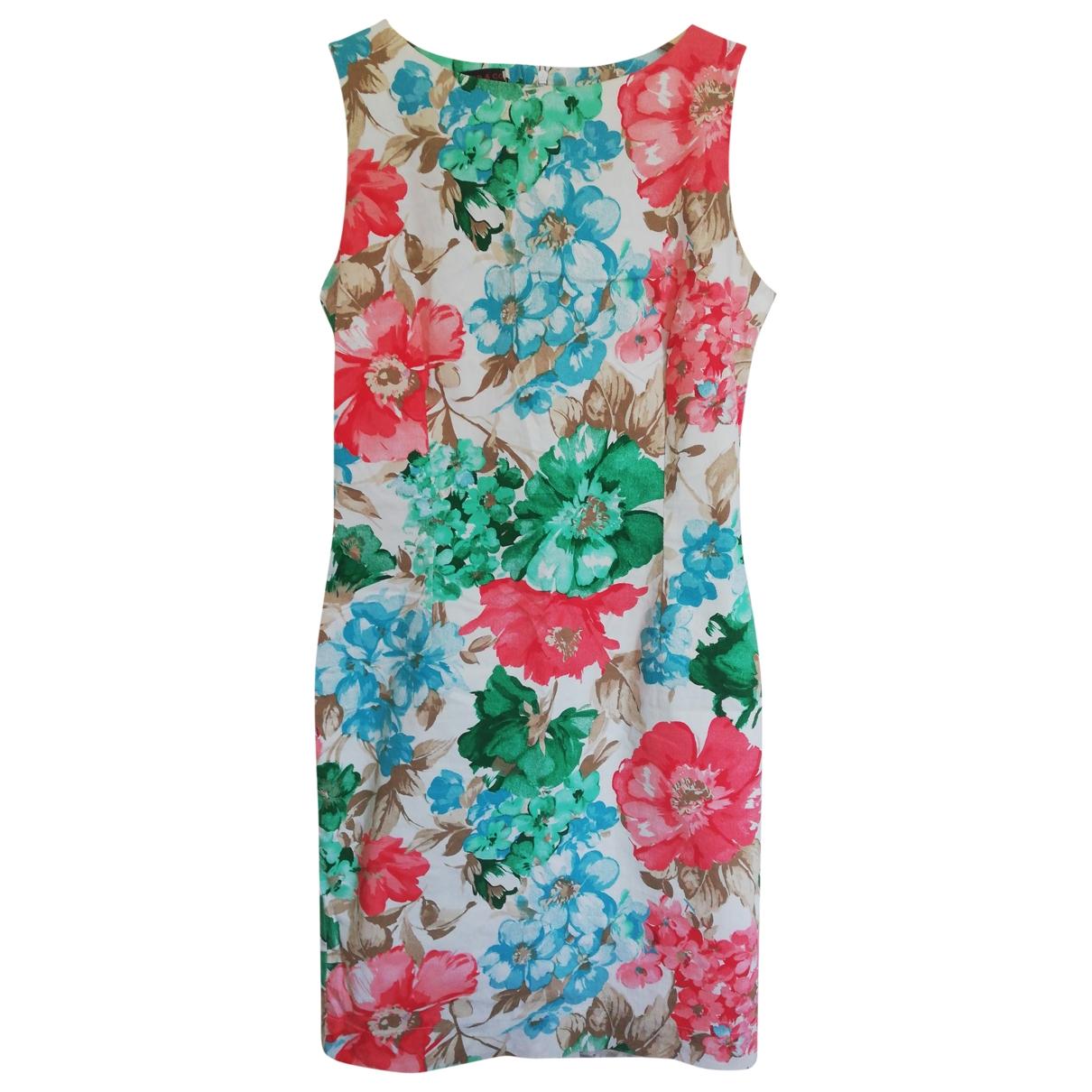 Non Signé / Unsigned \N Multicolour Cotton dress for Women 3 0-5