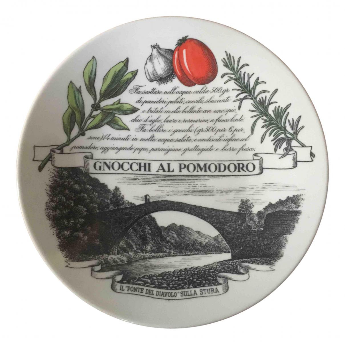 Fornasetti - Arts de la table   pour lifestyle en porcelaine - blanc