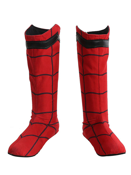 Milanoo Spider Man Homecoming Marvel Comics 2020 Film Cosplay Shoes Carnival