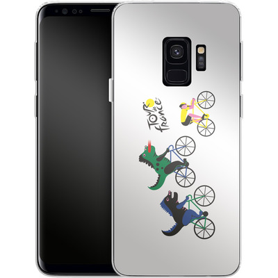 Samsung Galaxy S9 Silikon Handyhuelle - Monster Race von Le Tour de France