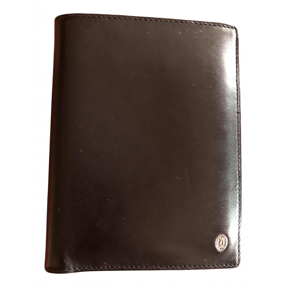 Cartier - Petite maroquinerie   pour homme en cuir - marron