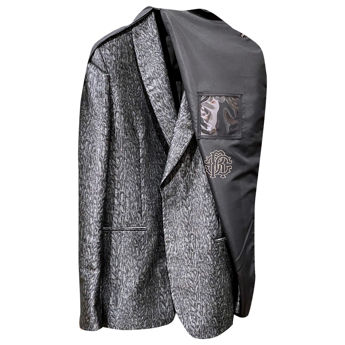 Roberto Cavalli \N Black jacket  for Men 56 IT