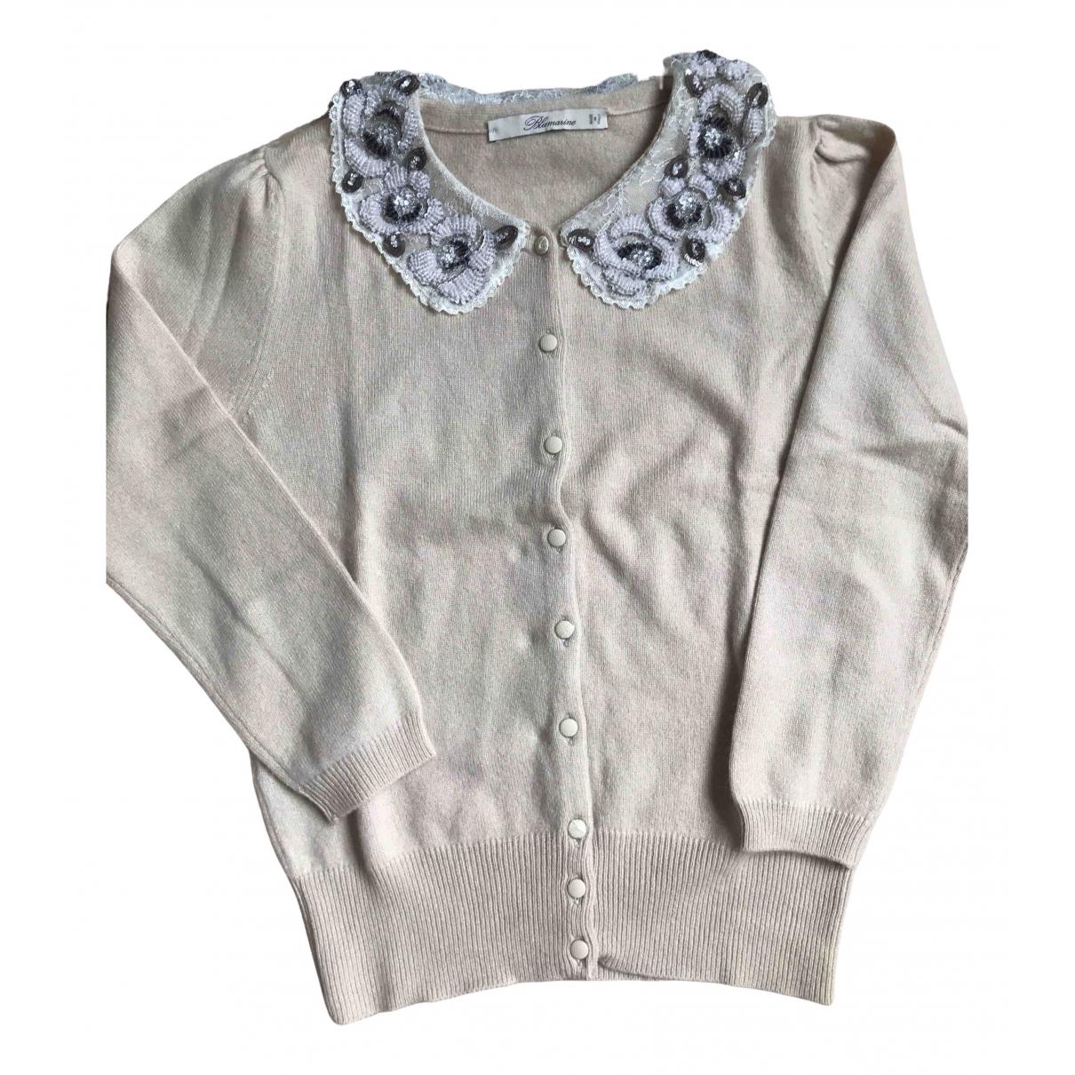 Blumarine \N Beige Cashmere Knitwear for Women 34 FR