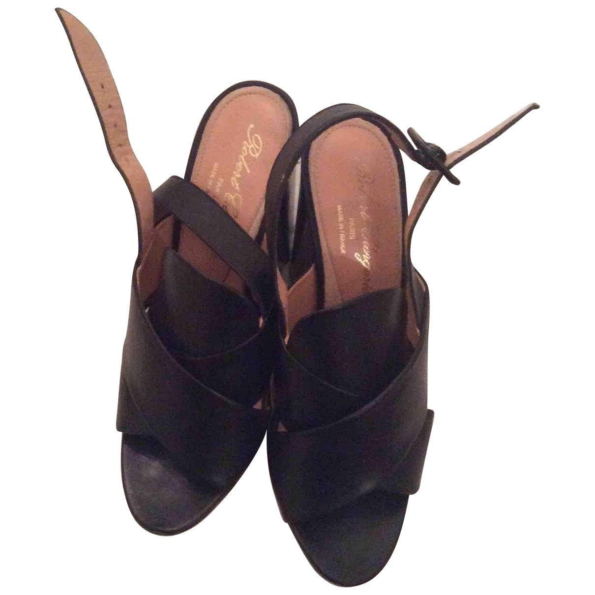 Sandalias de Cuero Robert Clergerie
