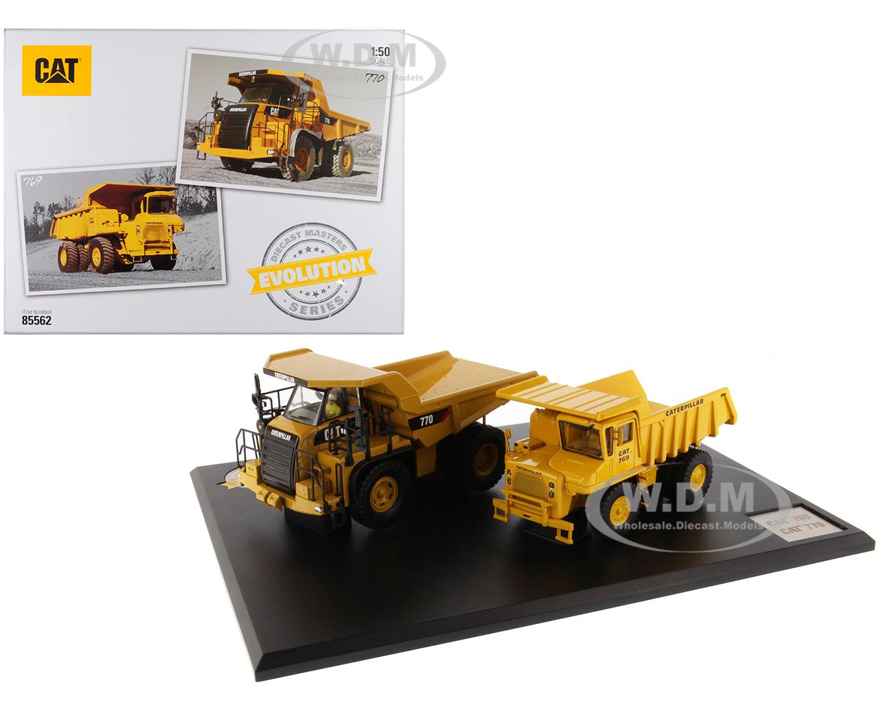 CAT Caterpillar 769 Off-Highway Truck (1963-2006) and CAT Caterpillar 770 Off-Highway Truck (2007-Present) with Operators