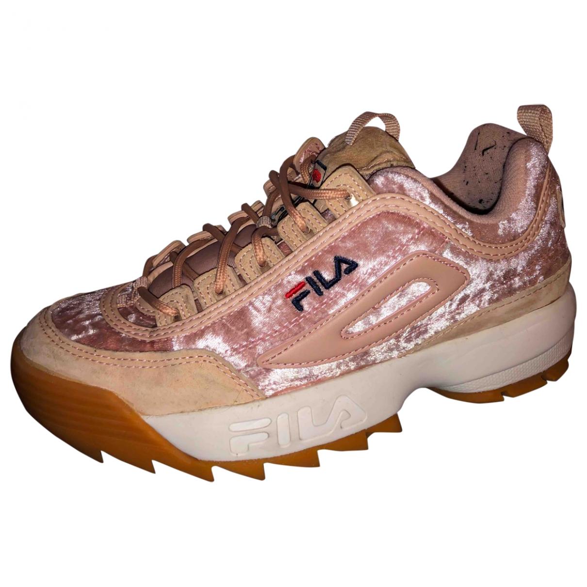 Fila \N Pink Velvet Trainers for Women 41 EU