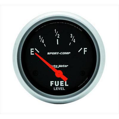 Auto Meter Sport-Comp Electric Fuel Level Gauge - 3514