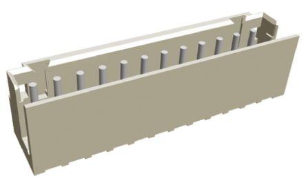 TE Connectivity , AMP CT, 12 Way, 1 Row, Straight PCB Header (10)