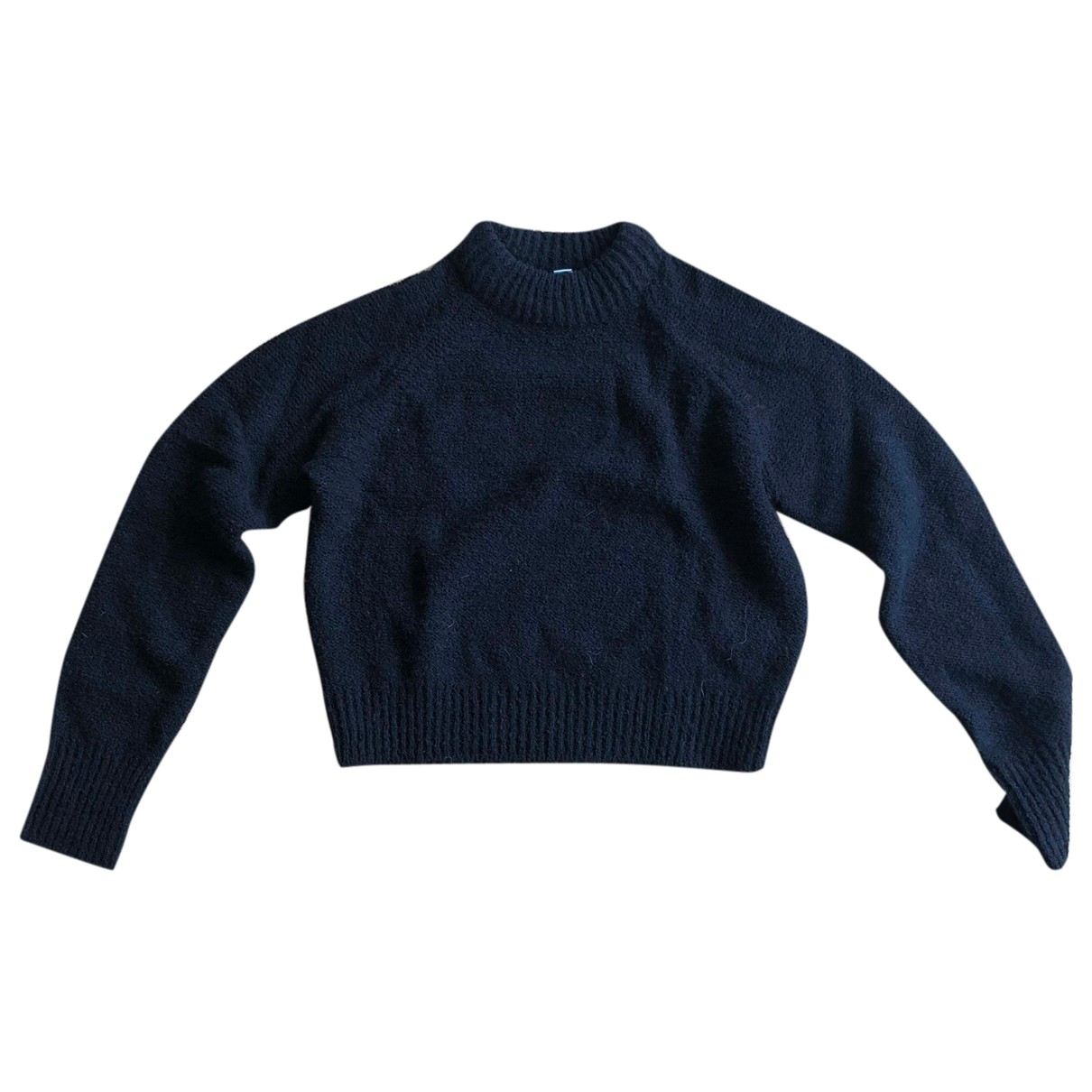 Lemaire X Uniqlo \N Pullover in  Schwarz Wolle
