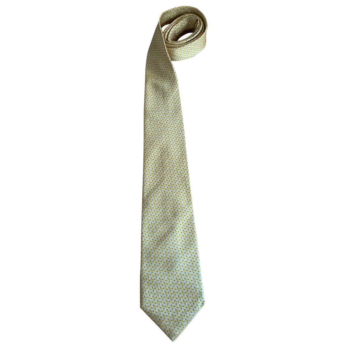 Nina Ricci \N Krawatten in  Gelb Seide