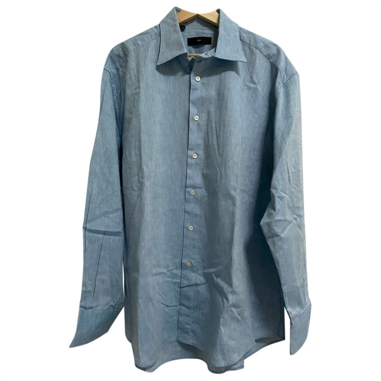 Ermenegildo Zegna \N Hemden in  Blau Baumwolle