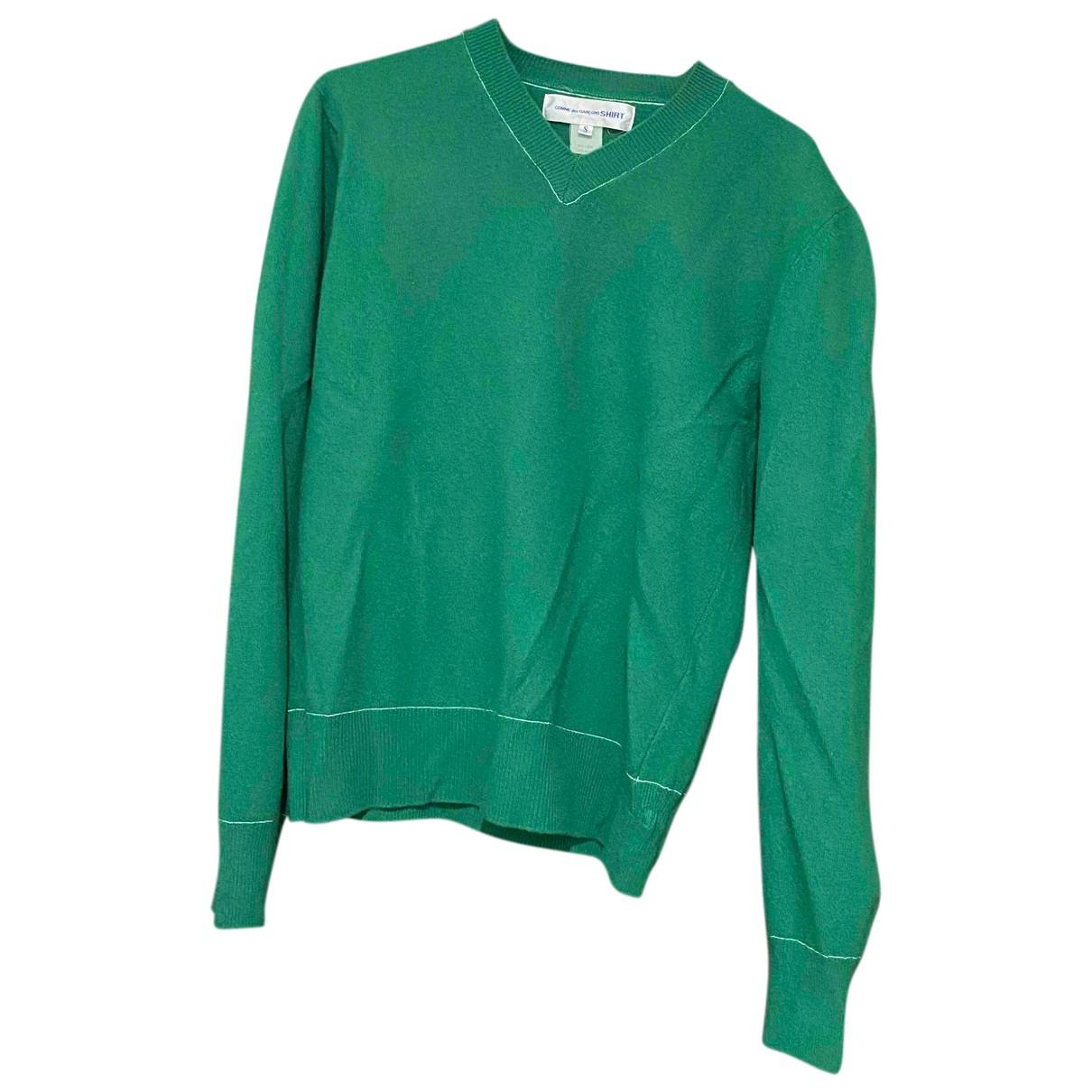 Comme Des Garcons \N Pullover.Westen.Sweatshirts  in  Gruen Wolle