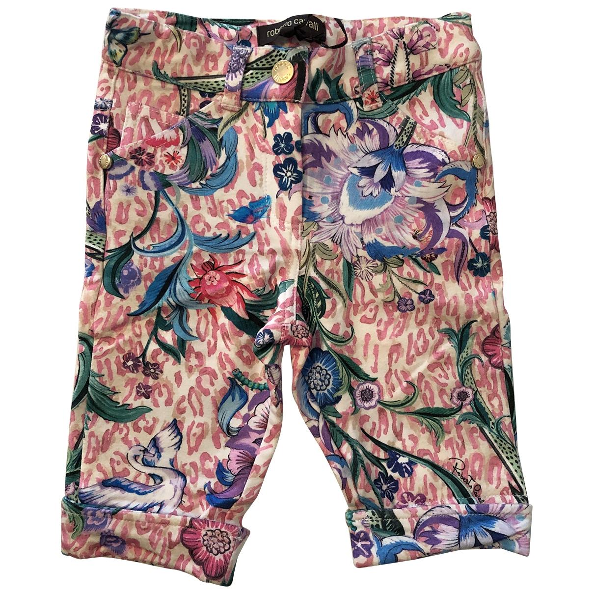 Roberto Cavalli - Pantalon   pour enfant en coton - rose
