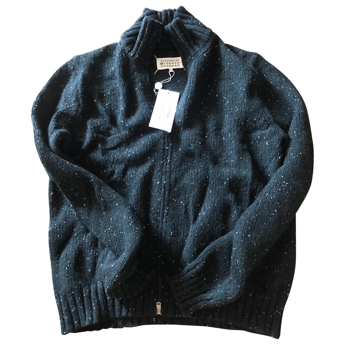 Maison Martin Margiela \N Pullover.Westen.Sweatshirts  in  Gruen Wolle