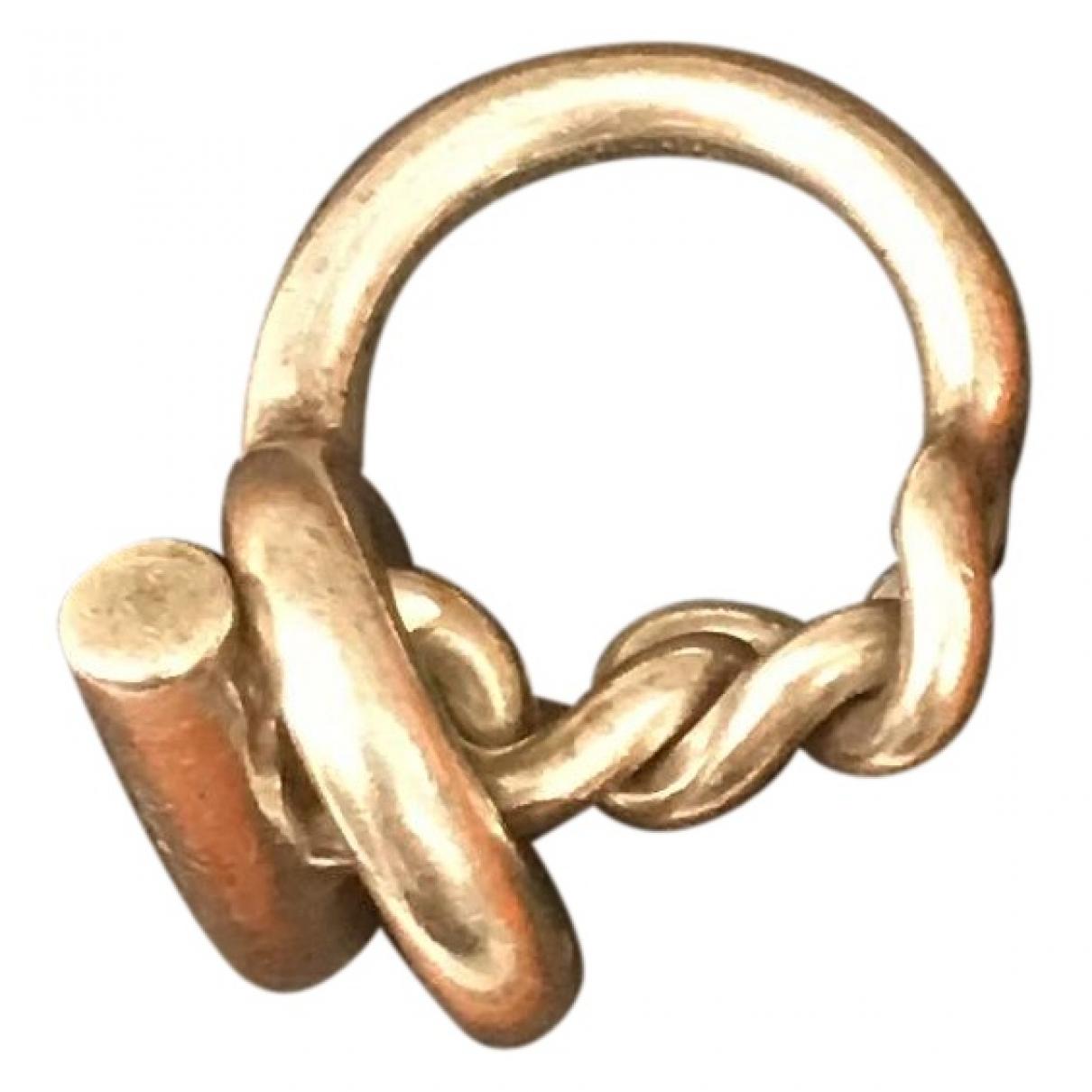 Hermès Croisette Silver Silver ring for Women 48 MM