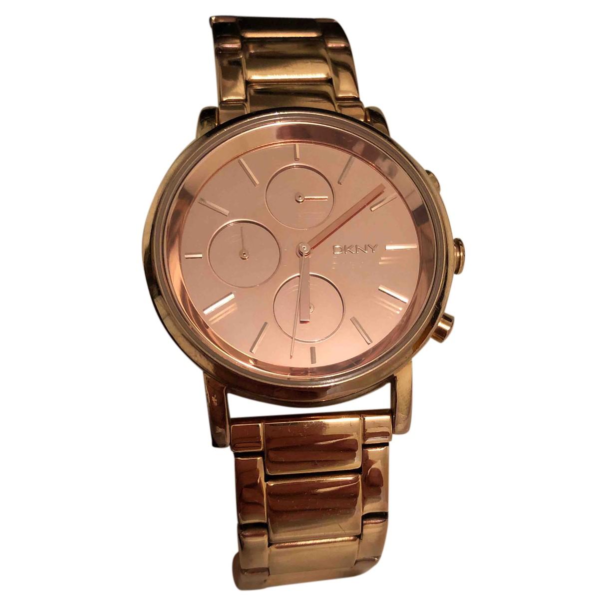 Dkny N Pink Steel watch for Women N